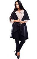 (S-L) Жіночий чорний жилет без рукавів Polin