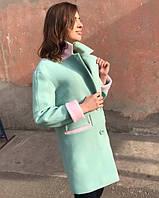 Пальто двухцветное 1270