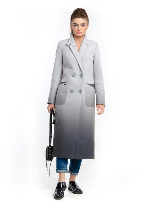 657cd4958409 Женское демисезонное пальто Макси -1271 - Интернет-магазин