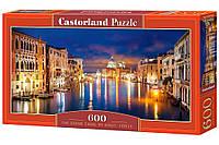 """Пазлы Castorland 600 """"Большой канал, Венеция"""", В-060245"""