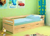 Кровать для подростка Нота, бук, спальное место 80190 см