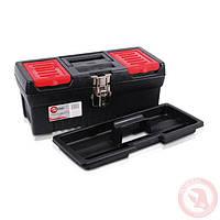 """Ящик для инструментов с металлическими замками, 13"""" 330x177x135 мм INTERTOOL BX-1013"""
