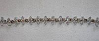 Тасьма декоративна люрекс срібло 6128, фото 1