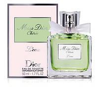 """Женская туалетная вода Christian Dior """"Miss Dior Cherie l'Eau"""" 50 ml"""