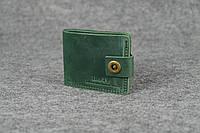 Классическое мужское портмоне (6 карт) |10407| Зеленый
