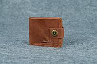 Классическое мужское портмоне (6 карт)  10410  Коньяк