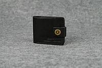Классическое мужское портмоне (6 карт)  10411  Черный