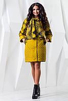 Женское демисезонное пальто В-971