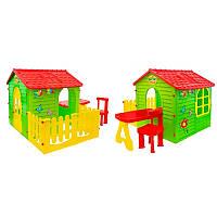 Мега большой садовый домик со столиком + заборчик, фото 1
