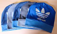 Трикотажная шапка Адидас 48-50 см