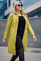 Женское осеннее стильное пальто-тренч Софи