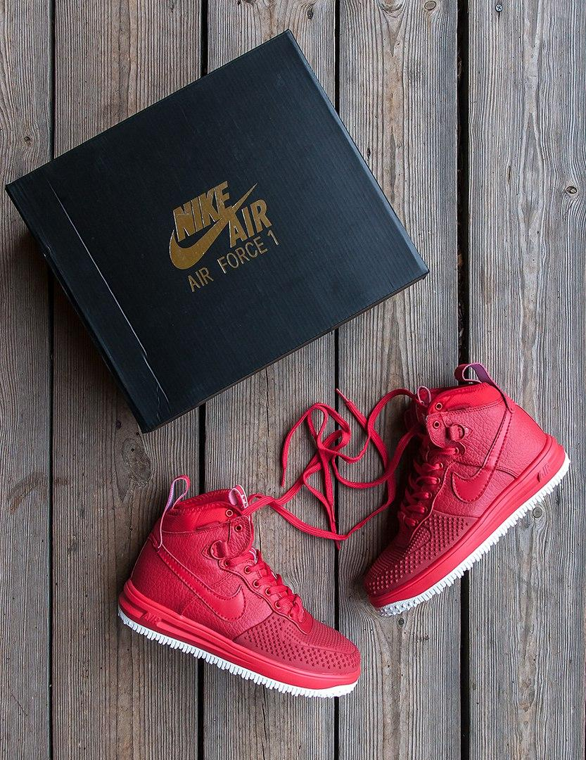 Зимние Ботинки Nike Lunar Force Duckboot  Red