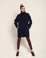 Женское пальто свободный крой М 2121