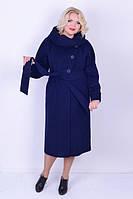 Женское пальто с капюшоном ботал М 2123