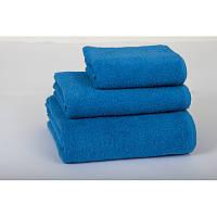 Полотенце банное махровое Lotus Отель синее 140*70