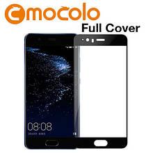 Защитное стекло Mocolo 2.5D 9H на весь экран для Huawei P10 Plus черный