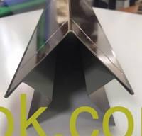 Планки комплектующие для металлического сайдинга тип 1 и тип 2 Угол наружный