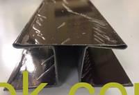 Планки комплектующие для металлического сайдинга тип 1 и тип 2 Планка соединения