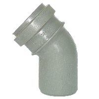Колено 50 / 45° внутреннее Форт-пласт