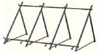 Кріплення 1-го колектора для рівного даху RSSMFR1