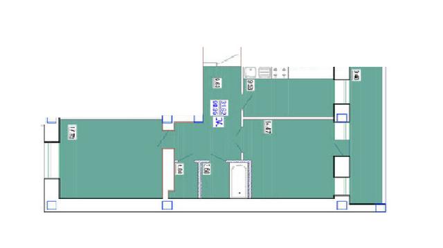Продам 2-х комнатную квартиру улица Генерала Цветаева, ориентир улица Высокая, Одесса, Приморский район