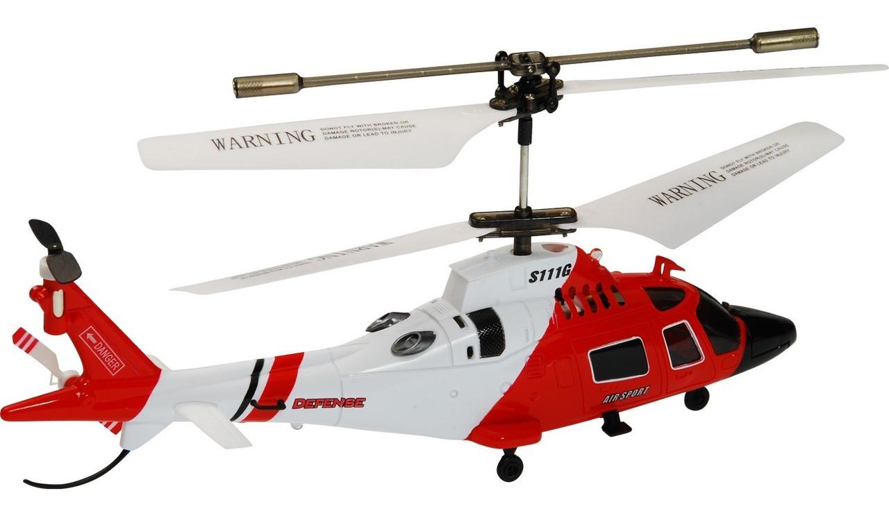 Большой вертолет на радиоуправлении с гироскопом Syma S111G , фото 1
