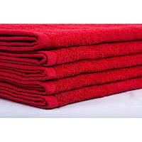 Полотенце банное махровое Lotus Отель красное 140*70