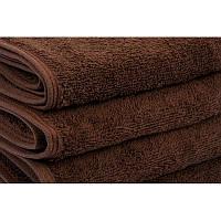 Полотенце банное махровое Lotus Отель коричневое 140*70