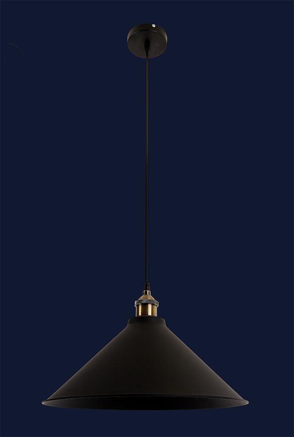 Світильник підвісний LOFT L526855-1 BK(360)