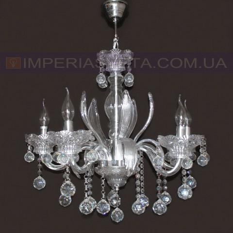 Люстра со свечами хрустальная TINKO пятиламповая LUX-354214