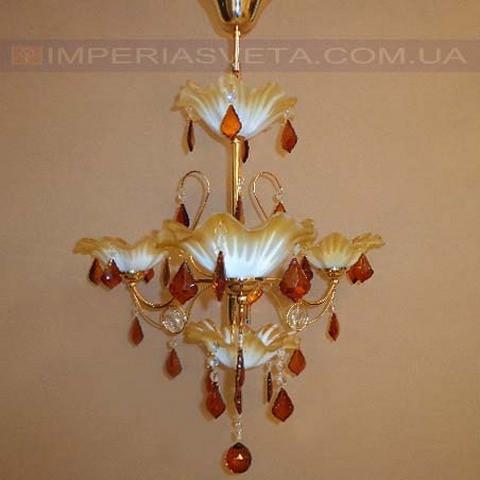 Люстра со свечами хрустальная IMPERIA четырехламповая LUX-401334