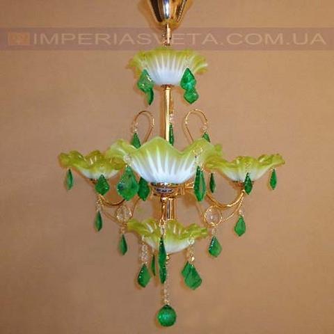 Люстра со свечами хрустальная IMPERIA четырехламповая LUX-436566