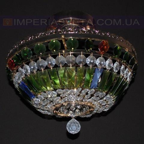 Люстра хрустальная припотолочная IMPERIA шестиламповая LUX-354203