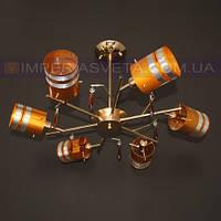 Люстра припотолочная TINKO шестиламповая LUX-434310