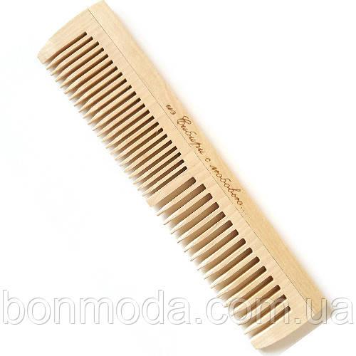 Расческа деревянная для волос (195 mm / 36 зубьев)