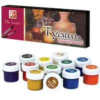 Набор гуашевых художественных красок DeLuxe 12х20мл