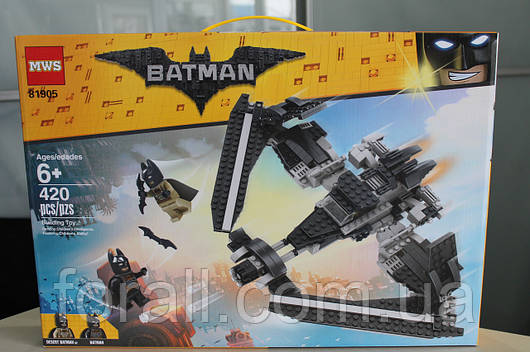 """Конструктор бэтмен аналог lego batman 81905 The Batman Movie """"Поединок в небе на Бэтоплане"""""""