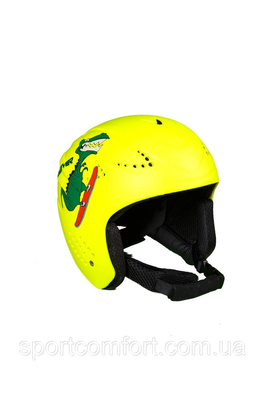 Шлем детский салатовый