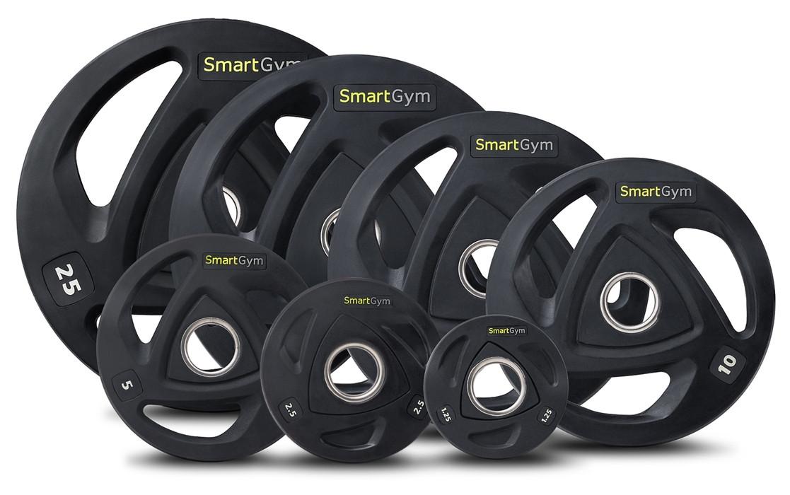 Набір олімпійських млинців SmartGym 180 кг