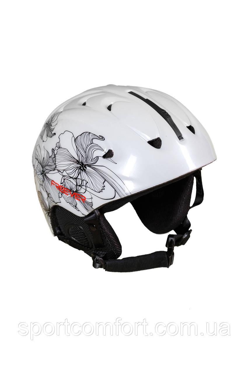 Шлем белый женский