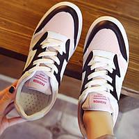 Розовые повседневные женские кроссовки