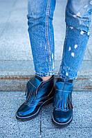 Осенние ботинки - оксфорды женские