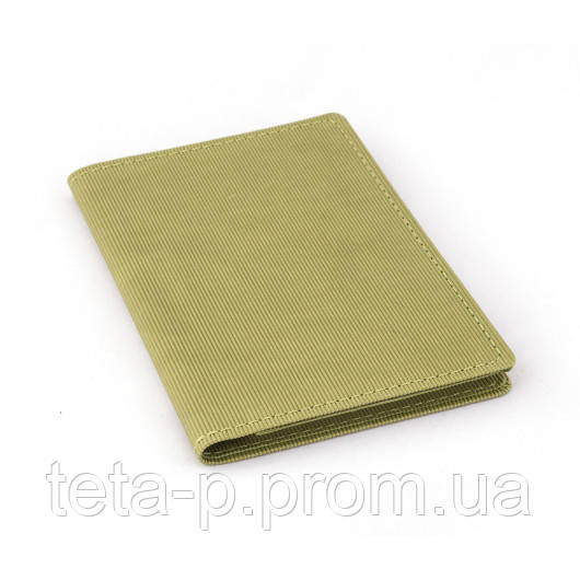 Холдер-блокнот размер 100x150 мм, материал Agenda Satin, зеленый / розовый