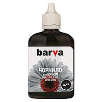 Чернила BARVA EPSON L100/L210/L300/L350/L355 (T6641) 90г BLACK (L100-398)