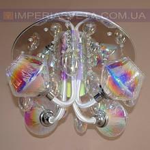 Потолочная люстра LED IMPERIA девятиламповая с диодной подсветкой LUX-452032