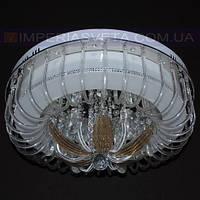 Потолочная люстра LED IMPERIA шестиламповая с пультом дистанционного управления и диодной подсветкой LUX-506534