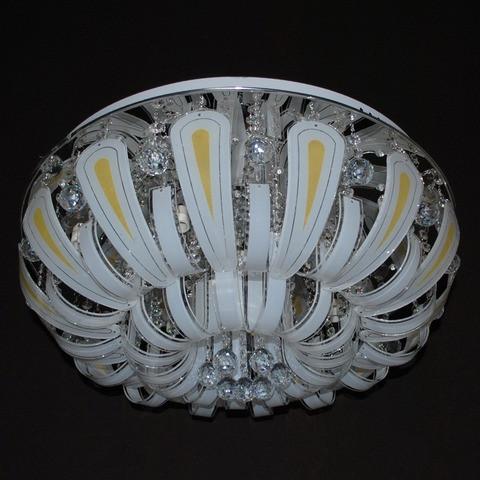 Потолочная люстра LED IMPERIA девятиламповая с пультом дистанционного управления и диодной подсветкой LUX-511462