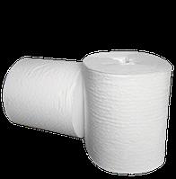 Бумажные полотенца в рулонах с центральной вытяжкой белые, влагопрочная целлюлоза
