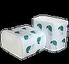Туалетная бумага листовая, целлюлозная - 2-х слойная