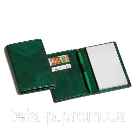 Холдер-блокнот размер 100x150 мм, материал Pelushe